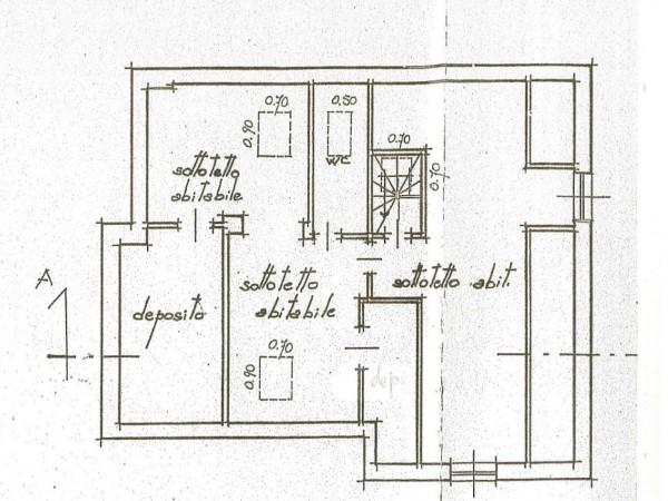 Casa indipendente in vendita a Torino, Cavoretto, 350 mq - Foto 3
