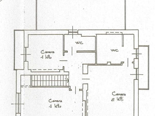 Casa indipendente in vendita a Torino, Cavoretto, 350 mq - Foto 4