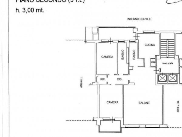 Appartamento in vendita a Torino, Viberti, 140 mq - Foto 2