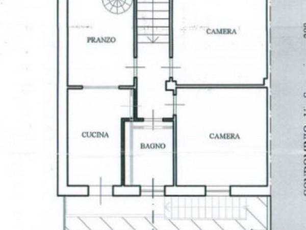 Casa indipendente in vendita a Torino, Con giardino, 150 mq - Foto 2