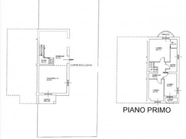 Appartamento in vendita a Monteroni d'Arbia, Con giardino, 110 mq - Foto 1