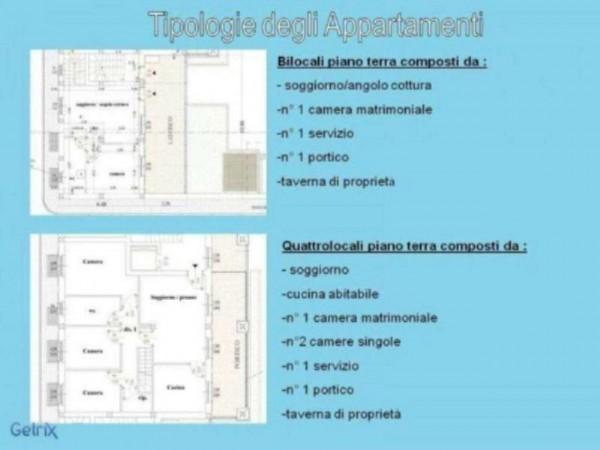 Appartamento in vendita a Cassano d'Adda, Con giardino, 70 mq - Foto 2