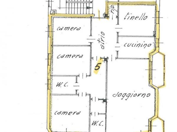 Appartamento in affitto a Cassano d'Adda, Centrale, Con giardino, 155 mq - Foto 2