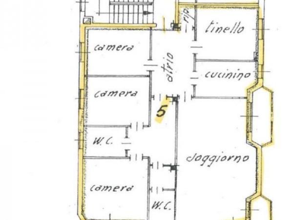 Appartamento in affitto a Cassano d'Adda, Centrale, Con giardino, 155 mq - Foto 19