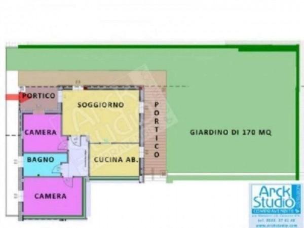 Appartamento in vendita a Cassano d'Adda, Con giardino, 127 mq - Foto 1