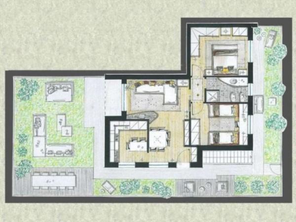 Appartamento in vendita a Cassano d'Adda, Con giardino, 63 mq - Foto 8