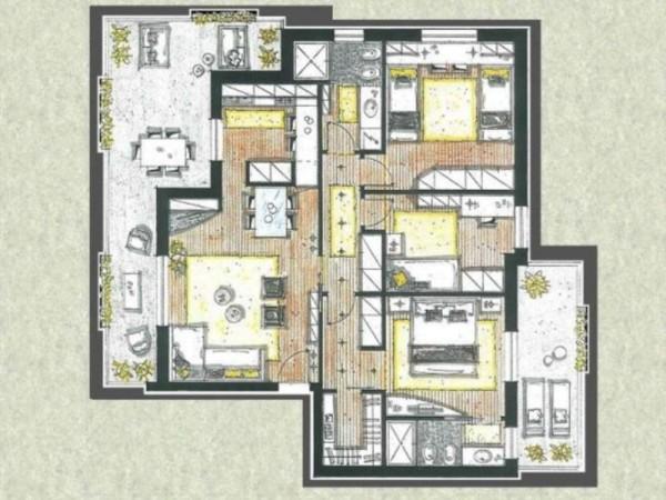 Appartamento in vendita a Cassano d'Adda, Con giardino, 63 mq - Foto 5