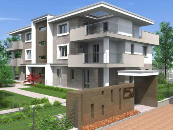 Appartamento in vendita a Cassano d'Adda, Con giardino, 63 mq