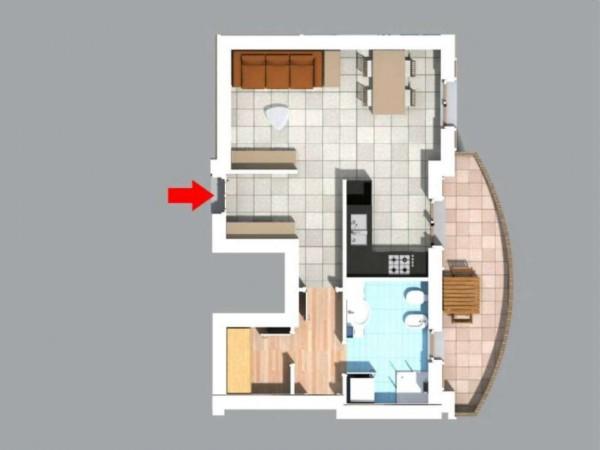 Appartamento in vendita a Inzago, Centro Storico, 55 mq