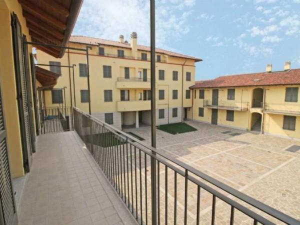 Appartamento in vendita a Inzago, Con giardino, 90 mq