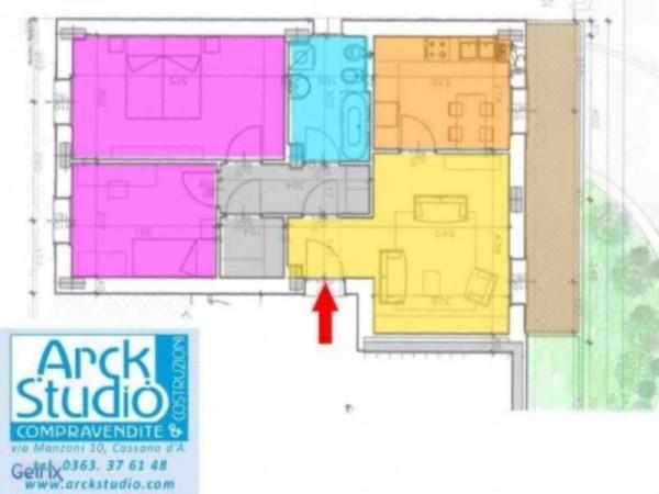 Appartamento in vendita a Inzago, Con giardino, 90 mq - Foto 9