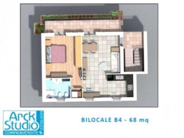 Appartamento in vendita a Inzago, Centro Storico, 70 mq