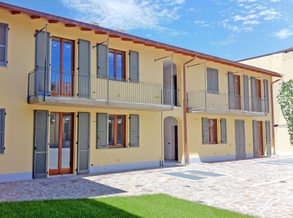 Appartamento in vendita a Inzago, Centro Storico, Con giardino, 71 mq - Foto 17