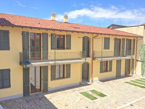 Appartamento in vendita a Inzago, Centro Storico, Con giardino, 71 mq - Foto 8
