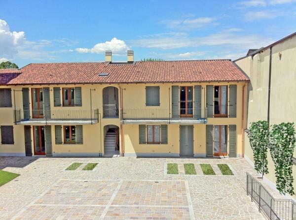 Appartamento in vendita a Inzago, Centro Storico, Con giardino, 71 mq - Foto 16