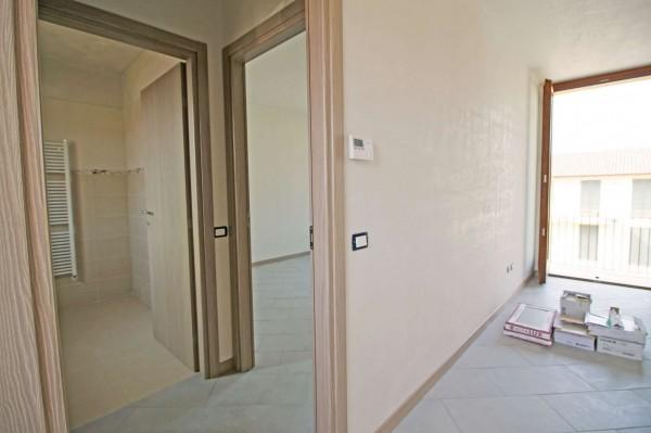 Appartamento in vendita a Inzago, Centro Storico, Con giardino, 71 mq - Foto 5