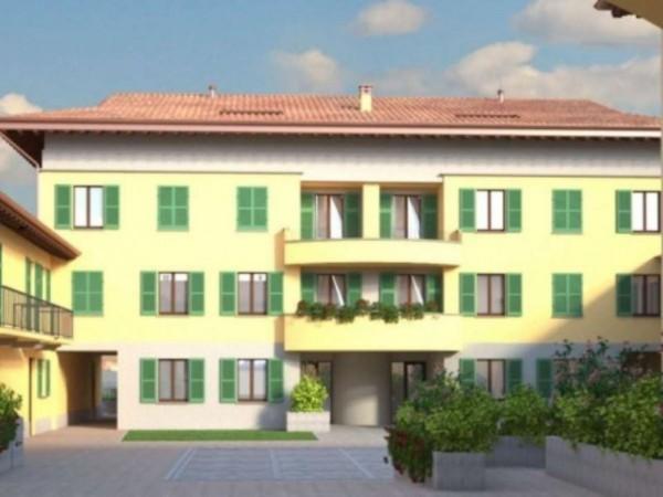 Appartamento in vendita a Inzago, Centro Storico, 120 mq - Foto 3