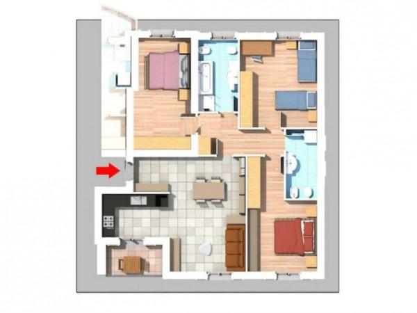 Appartamento in vendita a Inzago, Centro Storico, 120 mq - Foto 1