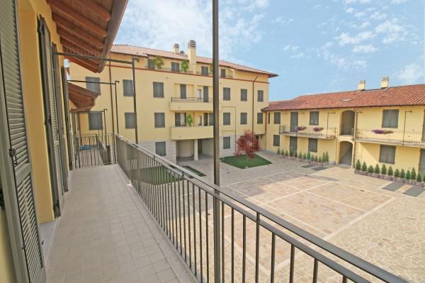 Appartamento in vendita a Inzago, Centro Storico, Con giardino, 90 mq - Foto 5