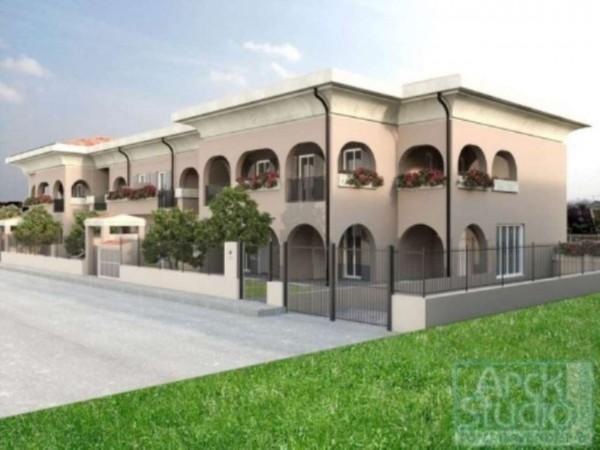 Appartamento in vendita a Inzago, Con giardino, 65 mq