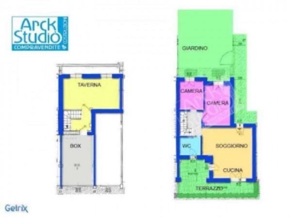 Appartamento in vendita a Inzago, Con giardino, 65 mq - Foto 2