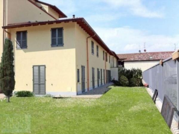 Villetta a schiera in vendita a Inzago, Con giardino, 170 mq - Foto 15
