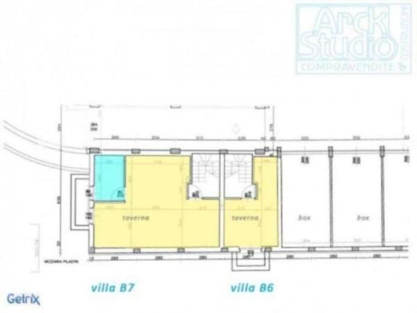 Villetta a schiera in vendita a Inzago, Con giardino, 170 mq - Foto 6