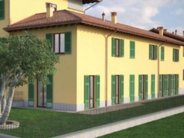Villetta a schiera in vendita a Inzago, Con giardino, 170 mq - Foto 9