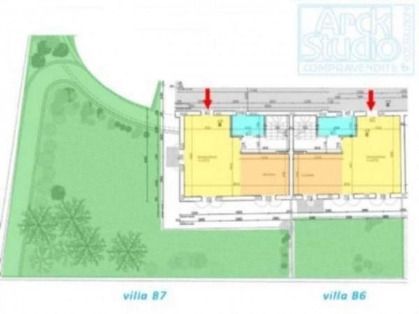 Villetta a schiera in vendita a Inzago, Con giardino, 170 mq - Foto 14