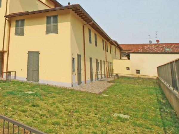 Villetta a schiera in vendita a Inzago, Con giardino, 170 mq - Foto 3