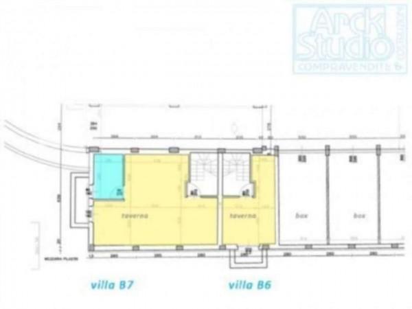 Villetta a schiera in vendita a Inzago, Con giardino, 170 mq - Foto 13