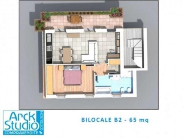 Appartamento in vendita a Inzago, Con giardino, 68 mq - Foto 18