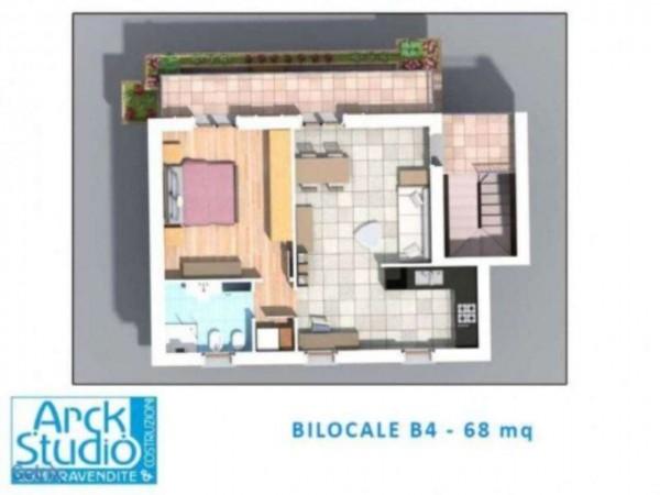 Appartamento in vendita a Inzago, Con giardino, 68 mq - Foto 3