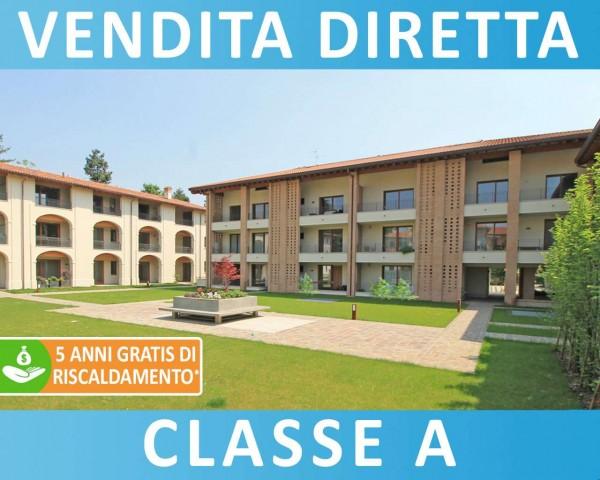 Appartamento in vendita a Cassano d'Adda, Naviglio, Con giardino, 93 mq - Foto 7