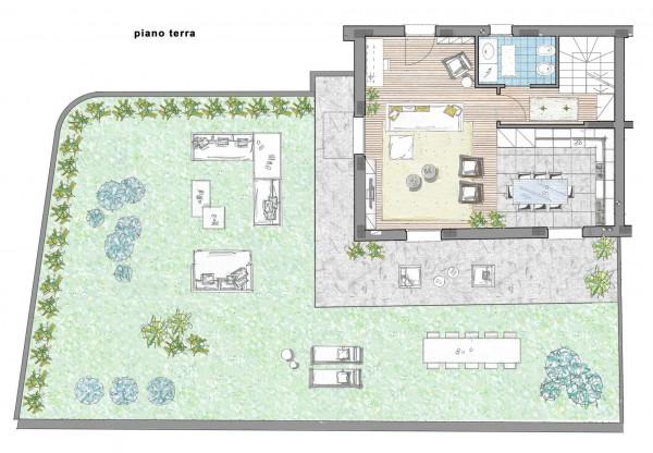 Villa in vendita a Inzago, Centro Storico, Con giardino, 170 mq - Foto 3