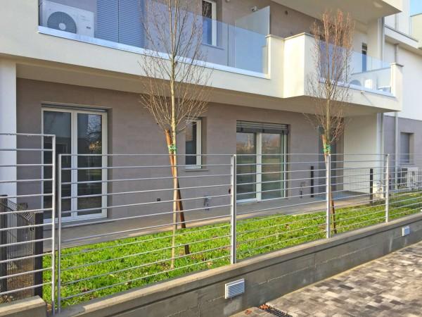 Appartamento in vendita a Cassano d'Adda, Cimbardi, Con giardino, 63 mq - Foto 2