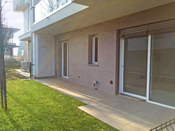 Appartamento in vendita a Cassano d'Adda, Cimbardi, Con giardino, 63 mq - Foto 3