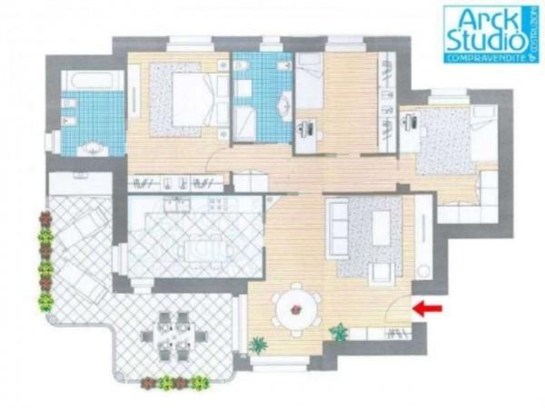 Appartamento in vendita a Cassano d'Adda, 149 mq - Foto 3