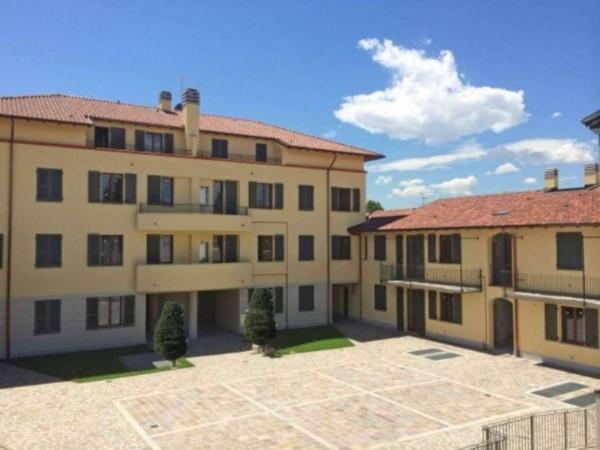 Appartamento in vendita a Inzago, Con giardino, 100 mq
