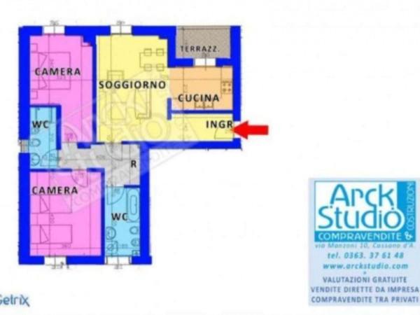 Appartamento in vendita a Inzago, Con giardino, 100 mq - Foto 5