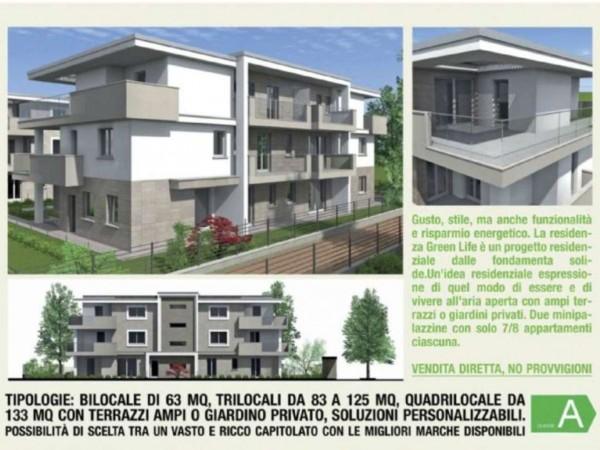 Appartamento in vendita a Melzo, Cassano D'adda, Con giardino, 63 mq - Foto 27