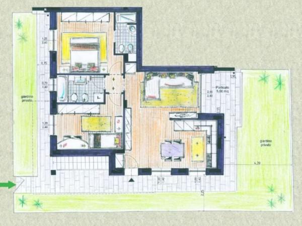 Appartamento in vendita a Melzo, Cassano D'adda, Con giardino, 63 mq - Foto 21