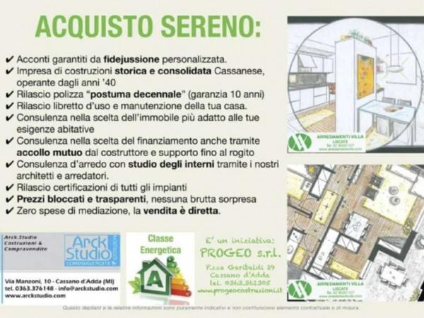 Appartamento in vendita a Melzo, Cassano D'adda, Con giardino, 63 mq - Foto 23