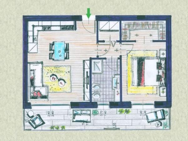 Appartamento in vendita a Melzo, Cassano D'adda, Con giardino, 63 mq - Foto 18