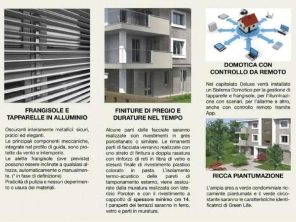 Appartamento in vendita a Melzo, Cassano D'adda, Con giardino, 63 mq - Foto 25