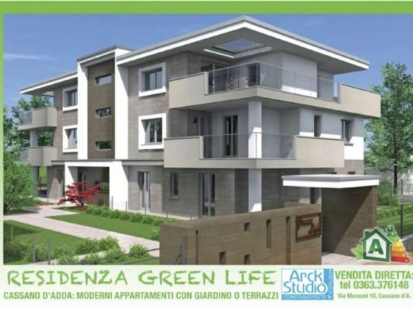 Appartamento in vendita a Melzo, Cassano D'adda, Con giardino, 63 mq - Foto 22