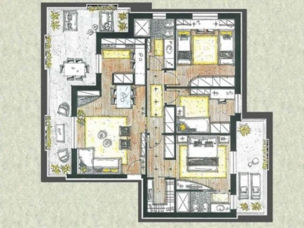 Appartamento in vendita a Melzo, Cassano D'adda, Con giardino, 63 mq - Foto 17
