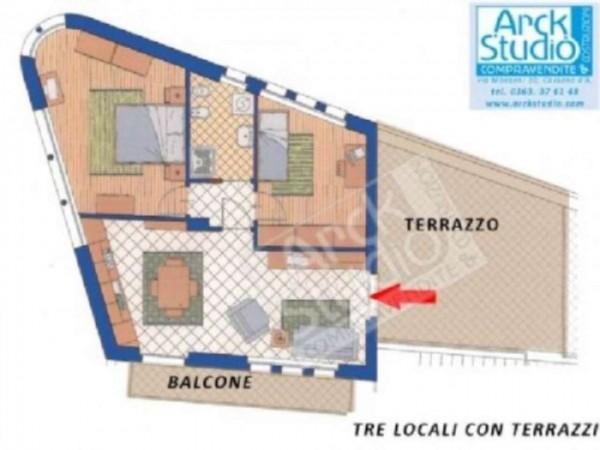 Appartamento in vendita a Cassano d'Adda, Con giardino, 100 mq - Foto 14