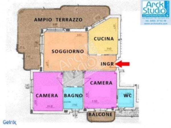 Appartamento in vendita a Cassano d'Adda, Con giardino, 130 mq - Foto 18