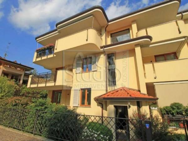 Appartamento in vendita a Cassano d'Adda, Con giardino, 130 mq - Foto 12